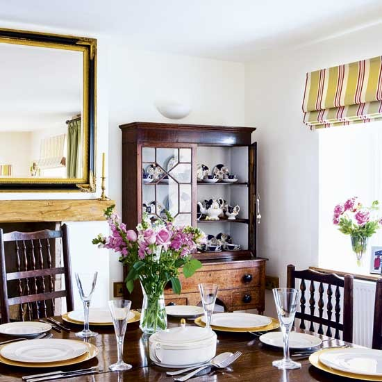 Gold dining room | Dining rooms | Design ideas | Image | Housetohome