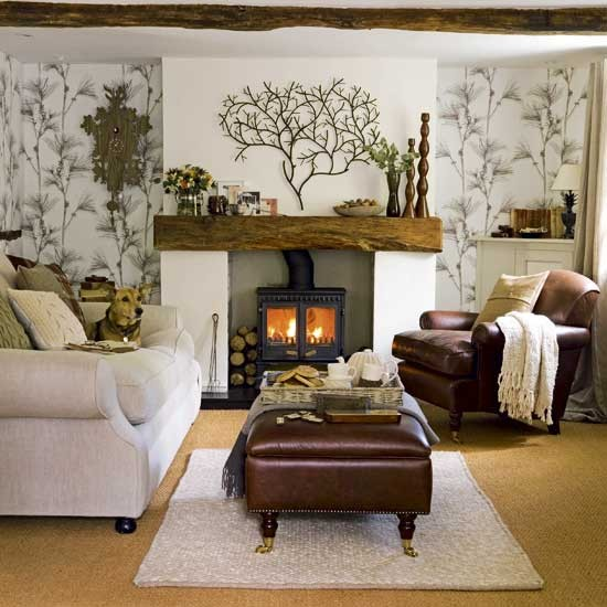 Natural living room | Image | housetohome.co.uk