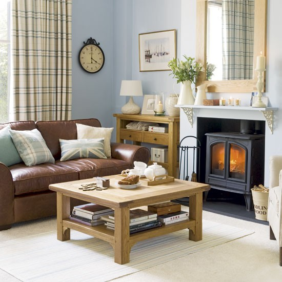 Blue union living room | Living rooms | Design ideas | Image | Housetohome