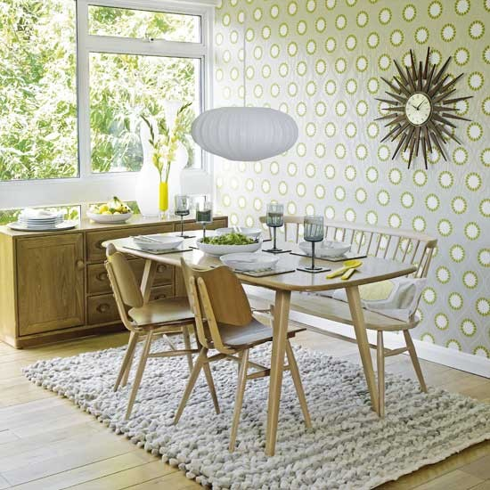 Graphic dining room | Dining rooms | Design ideas | Image | Housetohome