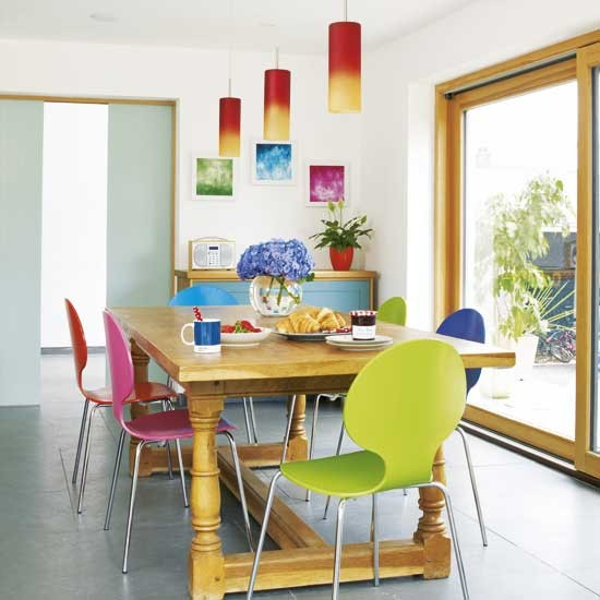 Colourful kitchen-diner | Kitchen-diners | Design ideas | Image
