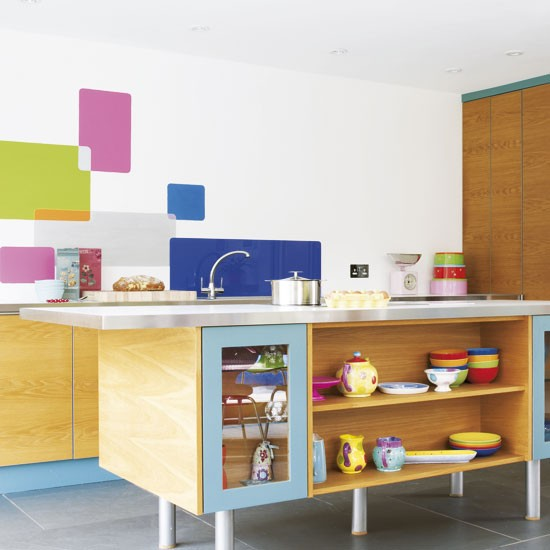 Colourful kitchen | Kitchens | Design ideas | Image | housetohome.