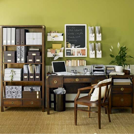Natural green home office | Home office | Design ideas | Image | Housetohome