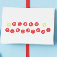 How to make your own Christmas cards - 10 ideas