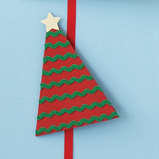 Work with ricrac how to make your own christmas cards for How to make your own christmas cards