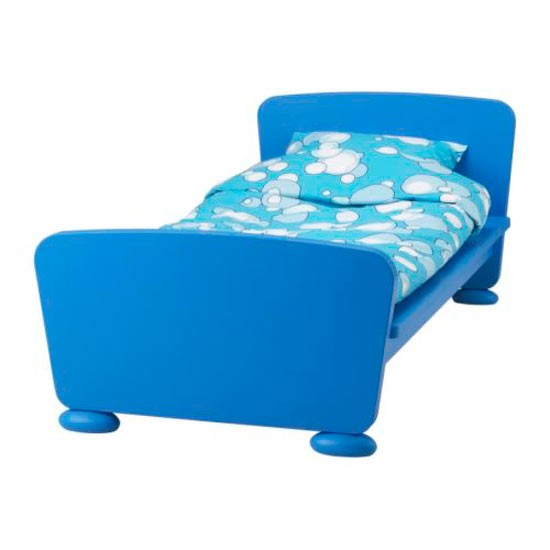 Bright blue boy's bed from IKEA | Kids' beds | Children's beds | Children's rooms | PHOTO GALLERY | Housetohome.co.uk