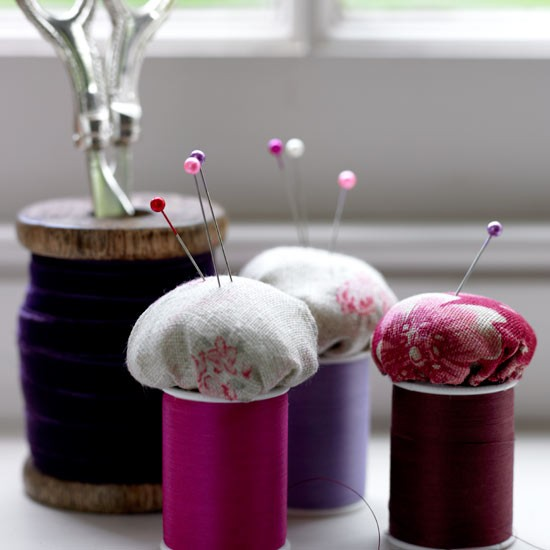 Make pincushions | How to create a craft room in 9 steps | Crafts | PHOTO GALLERY | Housetohome.co.uk