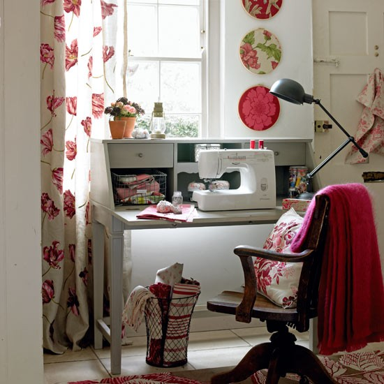 Get the lighting right | How to create a craft room in 9 steps | Crafts | PHOTO GALLERY | Housetohome.co.uk