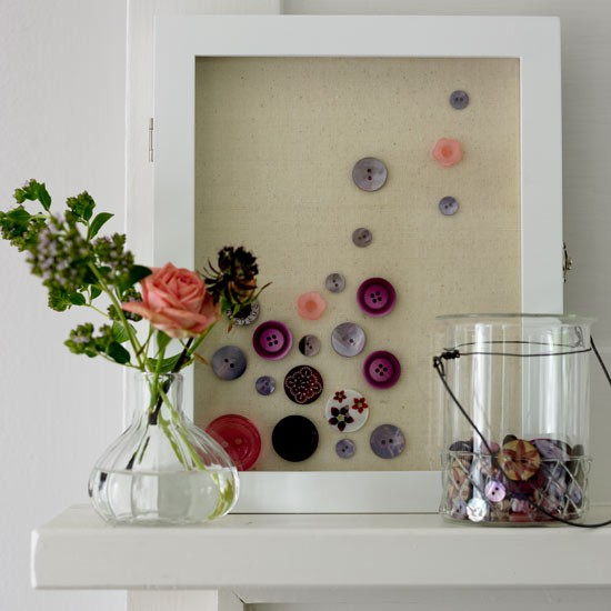 Display buttons | How to create a craft room in 9 steps | Crafts | PHOTO GALLERY | Housetohome.co.uk