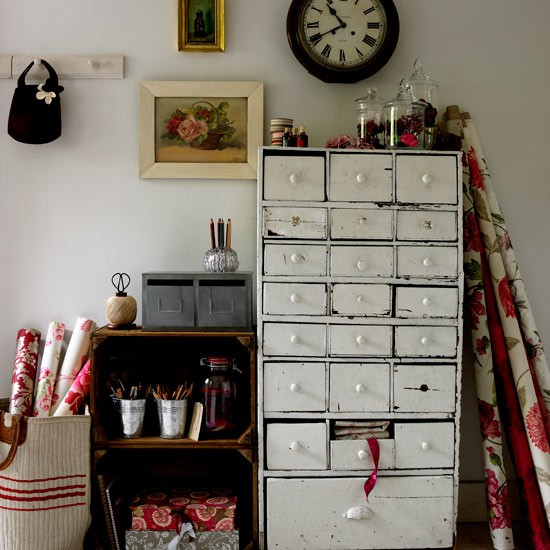Use clever storage | How to create a craft room in 9 steps | Crafts | PHOTO GALLERY | Housetohome.co.uk