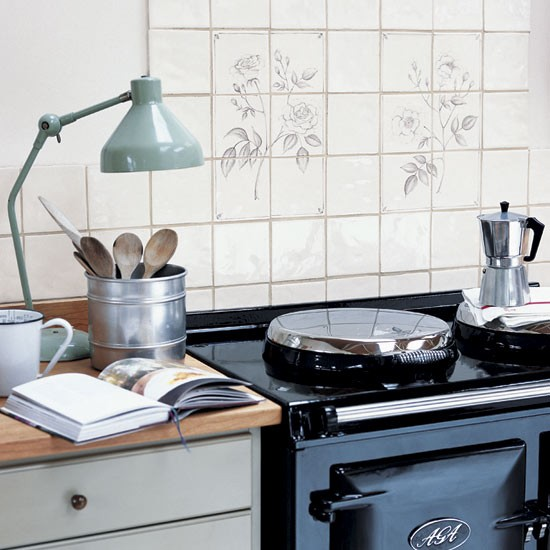 Patterned splashback | Country kitchens | Kitchen design | PHOTO GALLERY | Housetohome.co.uk
