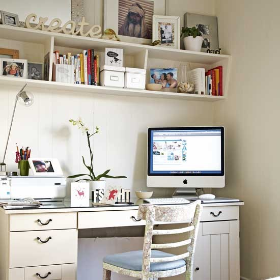 Corner office home office decorating ideas Corner home office design ideas