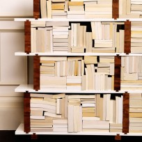 Even tattered books can be transformed into a feature with the right shelving solution