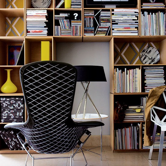 Make a feature of your books with our favourite shelving ideas