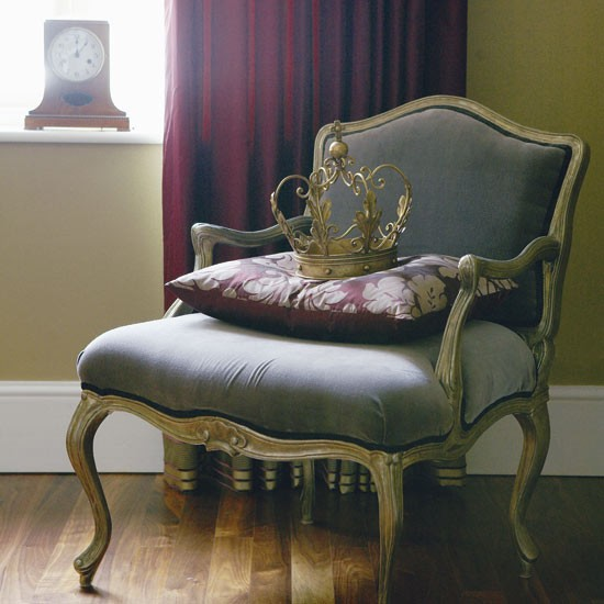 French Style Armchair Christmas Decorating Ideas Eco
