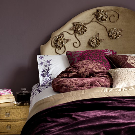 Follow our step-by-step guide to making headboard decorations