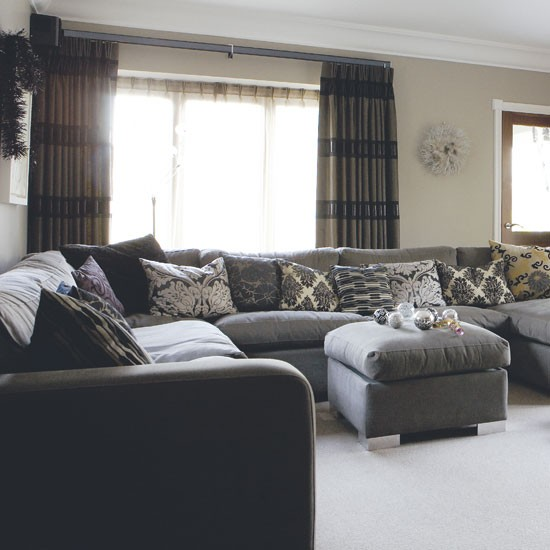 Grey Living Room Housetohomecouk