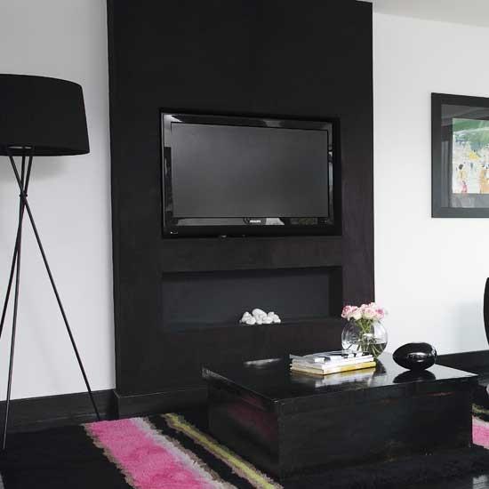 Black living room   Living rooms   Design ideas   Image   Housetohome