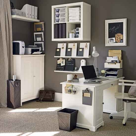 Striped home office | Home offices | Image | Housetohome