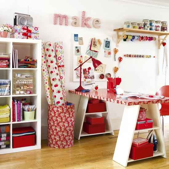 Craft room | Bookcase | Home office | Image | Housetohome