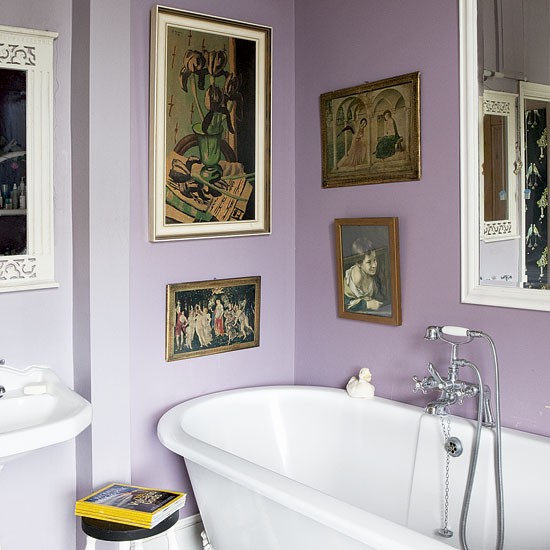 Mauve bathroom bathrooms design ideas image Mauve bathroom