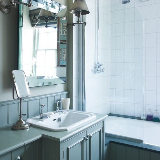 Pale blue bathroom | Bathrooms | Design ideas | Image | Housetohome
