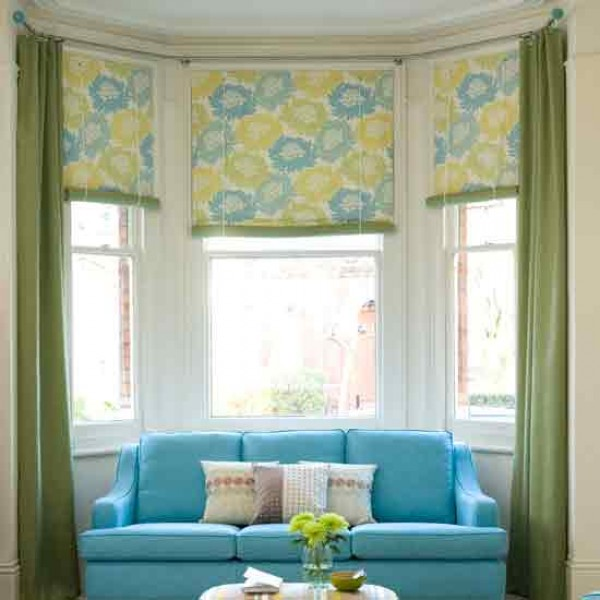 Bay Window Curtain Rods. . Images About Bay Windows On Pinterest ...