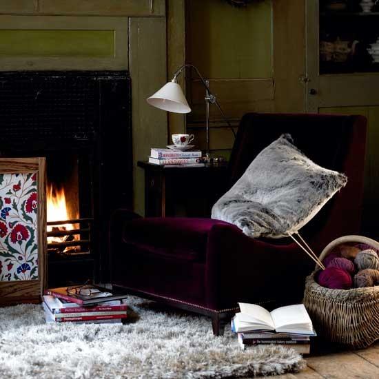 Living room | Fireplace | Image | Housetohome.co.uk