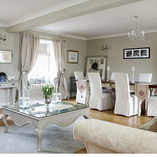 Create A Beautiful Open Plan Living And Dining Room By Uniting The Two