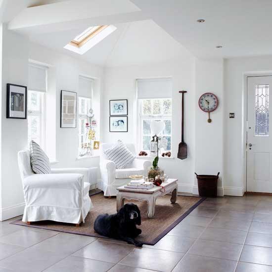 White open living room | Image | Housetohome.co.uk