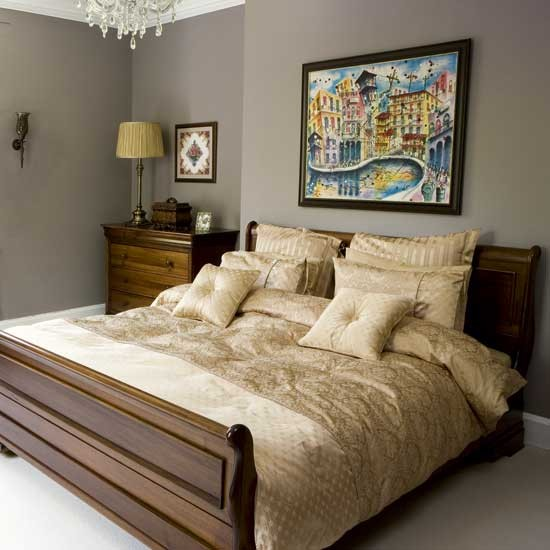 Gold bedroom modern designs gold bed linen - Gold bedroom ideas ...
