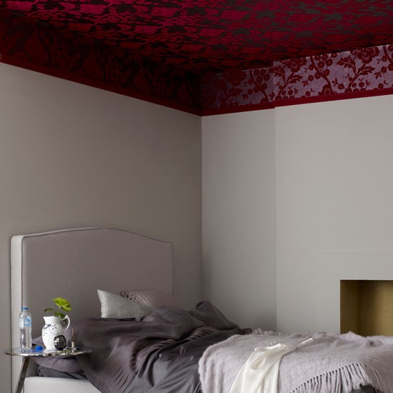 wallpaper the ceiling bedroom wallpaper ideas