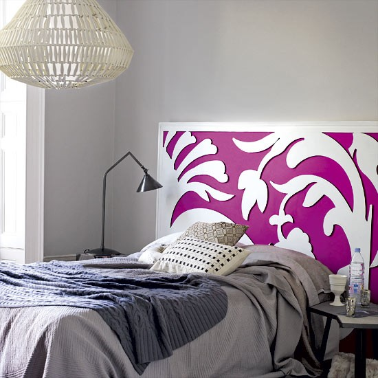 Bedroom | Decorating ideas | Decorate with accent colour | PHOTO GALLERY | Housetohome.co.uk