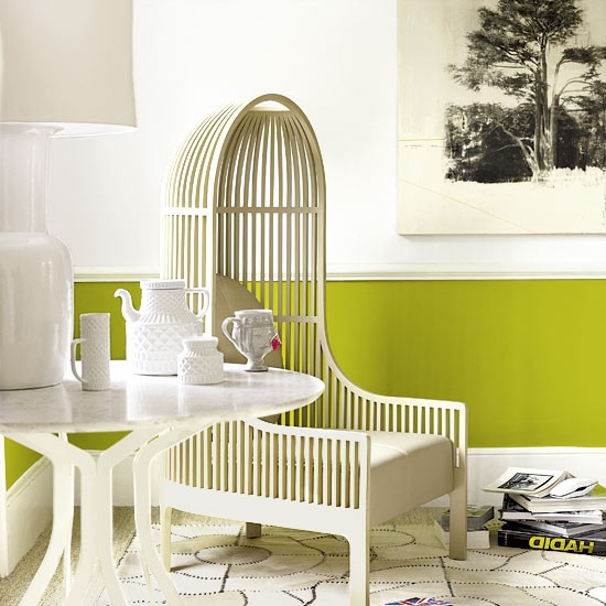 Living room | Zingy green | Image | Housetohome.co.uk