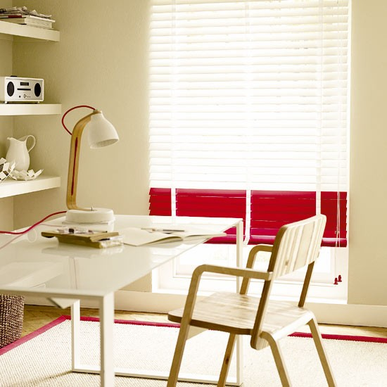 Home office with bright accents | Home office | Design ideas | Image | Housetohome