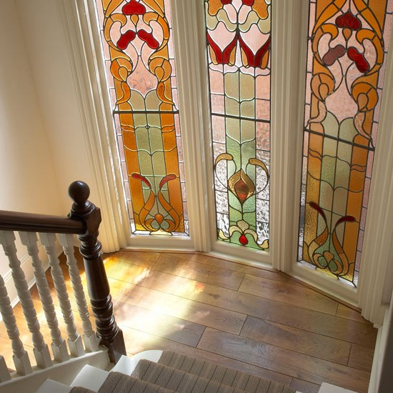 Bring your windows to life with colourful stained glass