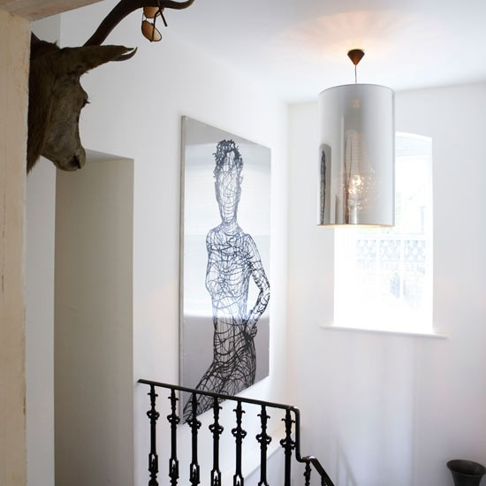 Hallway | Decorating ideas | Eclectic house tour | Image | Housetohome.co.uk