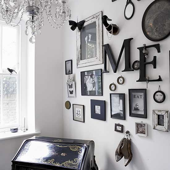 Home office | Decorating ideas | Eclectic house tour | Image | Housetohome.co.uk