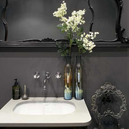 Bathroom | Decorating ideas | Eclectic house tour | Image | Housetohome.co.uk