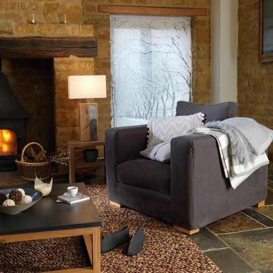 Cosy country living room | Decorating ideas | Image | housetohome.co.uk