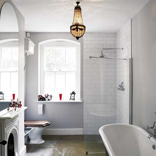 Light white bathroom | Bathroom decorating ideas | Bathrooms | Bathroom ideas | PHOTO GALLERY | Housetohome.co.uk