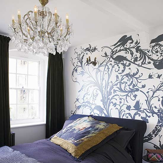 Bedroom | Decorating ideas | Eclectic house tour | Image | Housetohome.co.uk