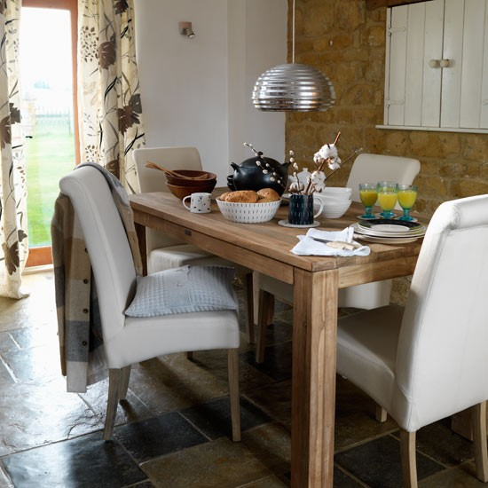 Natural dining room | Decorating ideas | Image | Housetohome