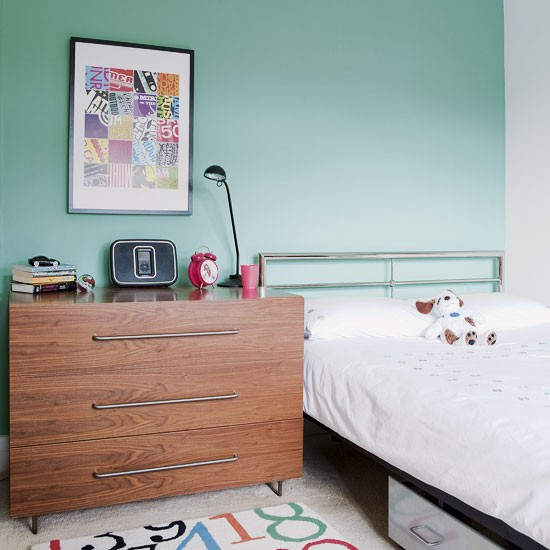 Green boy's bedroom | Bedrooms | Design ideas | Image | Housetohome