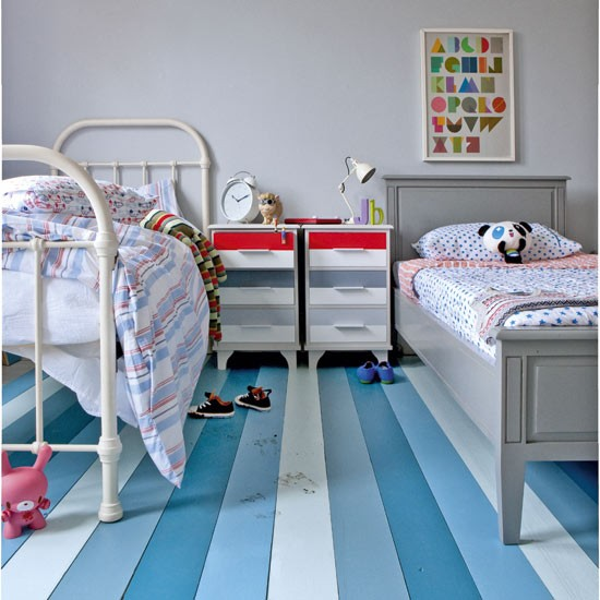 Paint the floor childrens bedroom decorating ideas for Flooring for child s bedroom