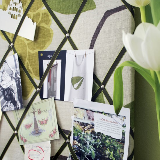 Home office memo board | Home offices | Design ideas | Image | Housetohome