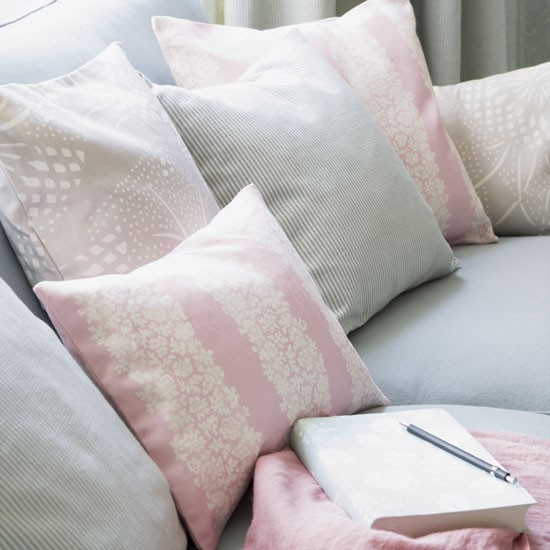 Pastel living room cushions | Living rooms | Decorating ideas | Image | Housetohome
