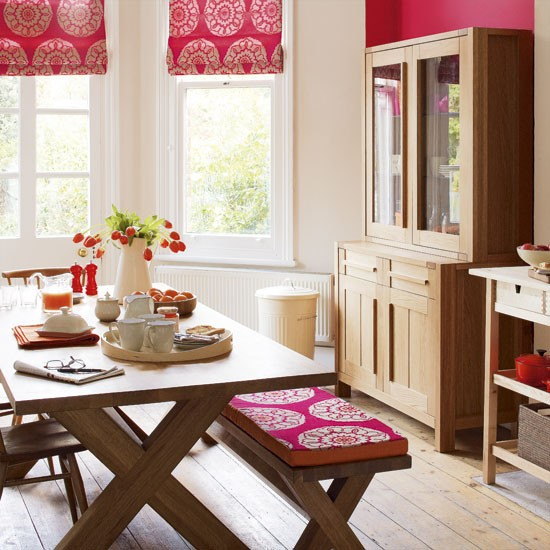 Pink dining room | Decorating ideas | Image | Housetohome