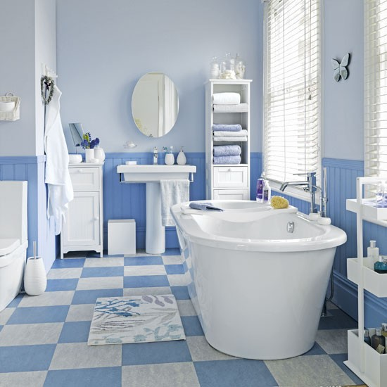 Blue bathroom | Bathrooms | Design ideas | Image | Housetohome
