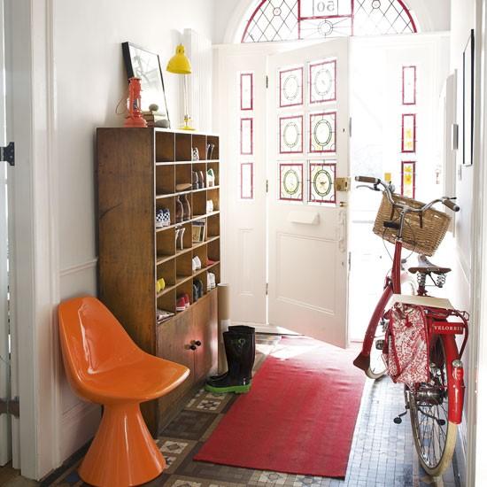Hallway shoe storage Hallway colour scheme ideas
